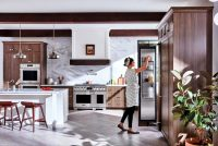 Продуманная расстановка мебели поможет избежать лишних движений при готовке