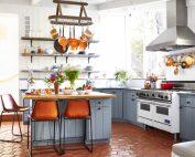 Форма кухонного острова зависит от особенностей конфигурации кухни и от желания повара