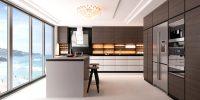 Дизайн кухни в стиле минимализм отличается простотой, практичностью и функциональностью