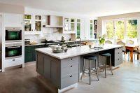 При наличии свободного места, любой интерьер кухни можно дополнить кухонным островом