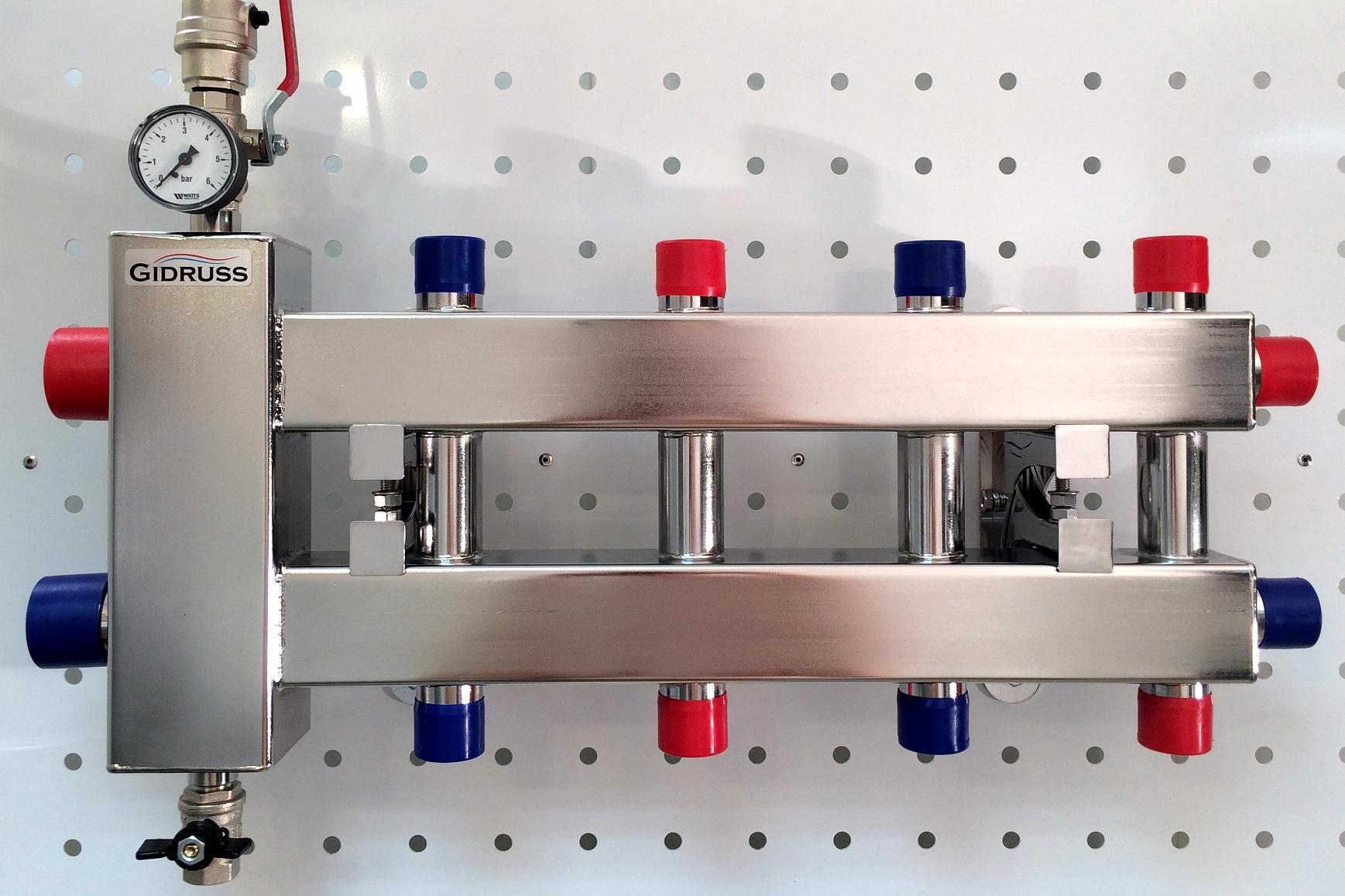 Эффективная работа системы отопления с гидрострелкой возможна при наличии у каждого контура собственного циркуляционного насоса
