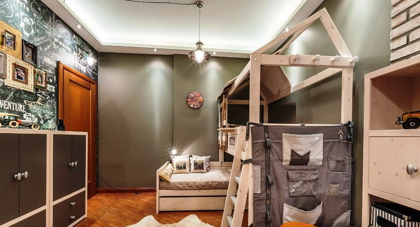 Одна из главных черт лофта - его простота, а значит предметы мебели также могут быть простыми, без излишеств