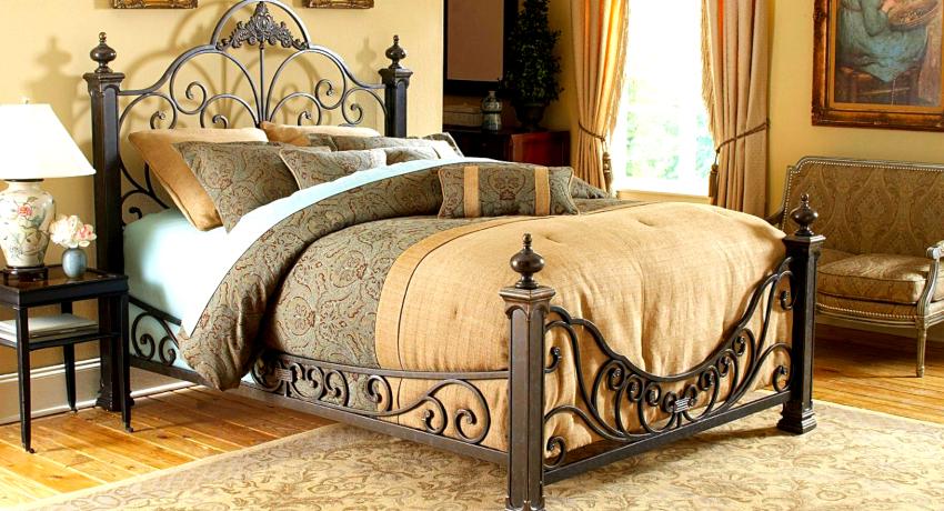 Отзывы владельцев кованых кроватей иногда бывают совершенно противоположными