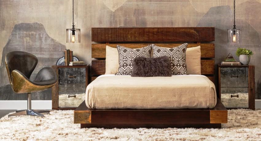 Кровать из массива дерева: натуральная, надежная и долговечная