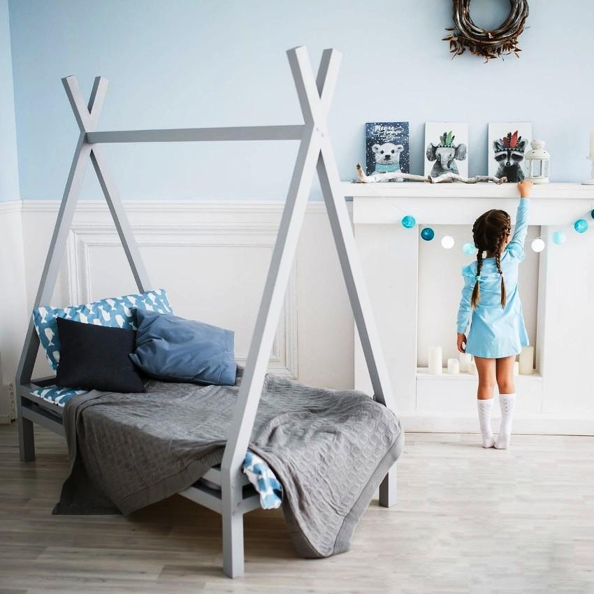 Одним из самых востребованных материалов при изготовлении детских кроватей является массив дерева