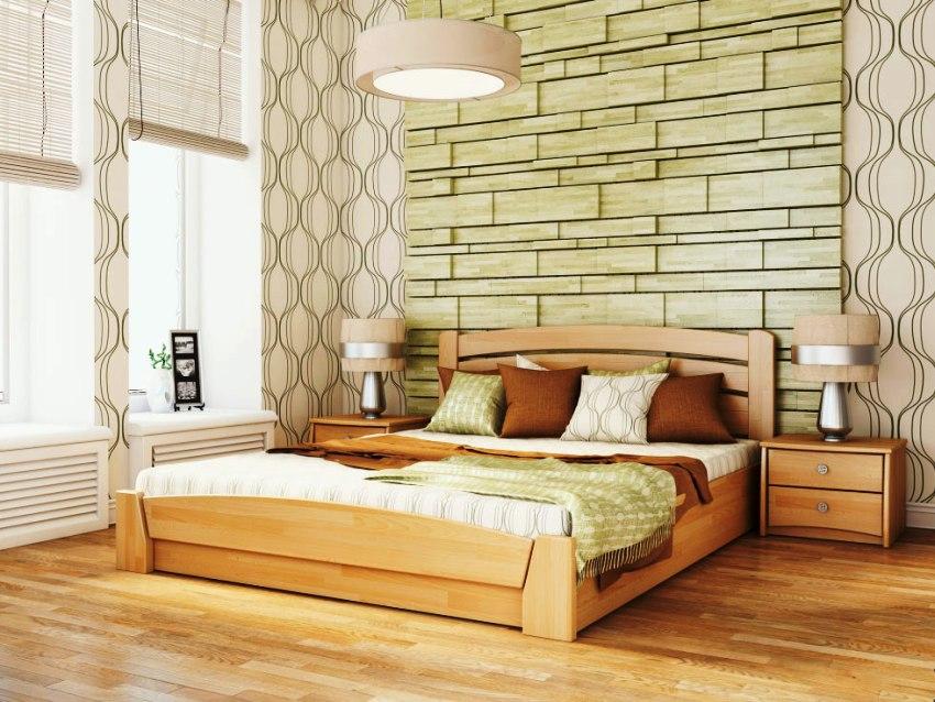 Свойства деревянной кровати во многом определяются используемой при изготовлении породой дерева