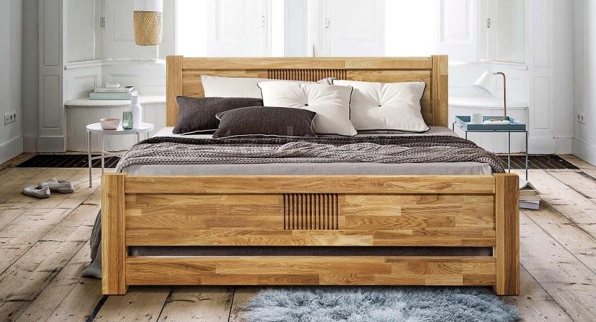 Необычная природная фактура дерева делает каждую кровать оригинальной