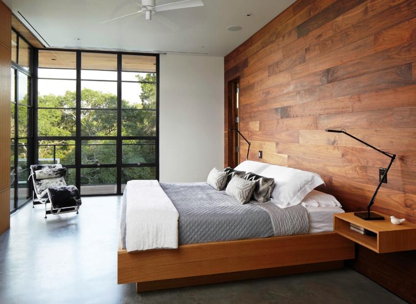 Выбор размера кровати зависит от параметров спальни и роста человека