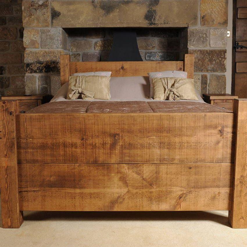 Создать собственноручно кровать из древесины — может быть не самое легкое решение, но точно самое выгодное