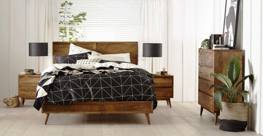 Некоторые выбирают натуральную деревянную кровать не столько из-за внешнего вида, сколько из-за ее полезных свойств
