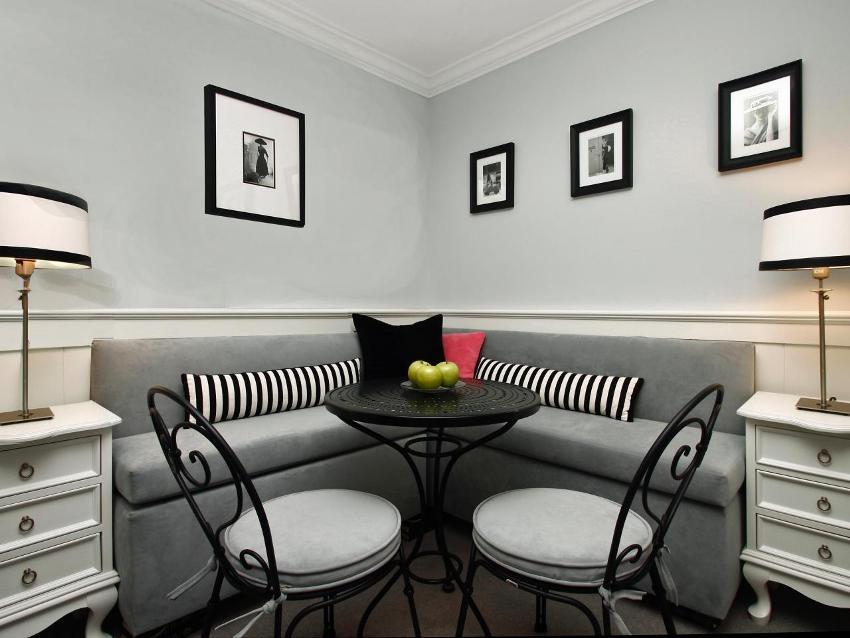 Нередко уголки приобретают для небольших кухонь, где каждый сантиметр пространства нужно экономить