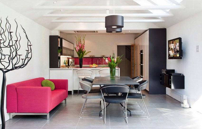 Кухонные уголки со спальным местом изготавливаются разными по стилю и цветовому решению, и поэтому легко подобрать модель под любой интерьер