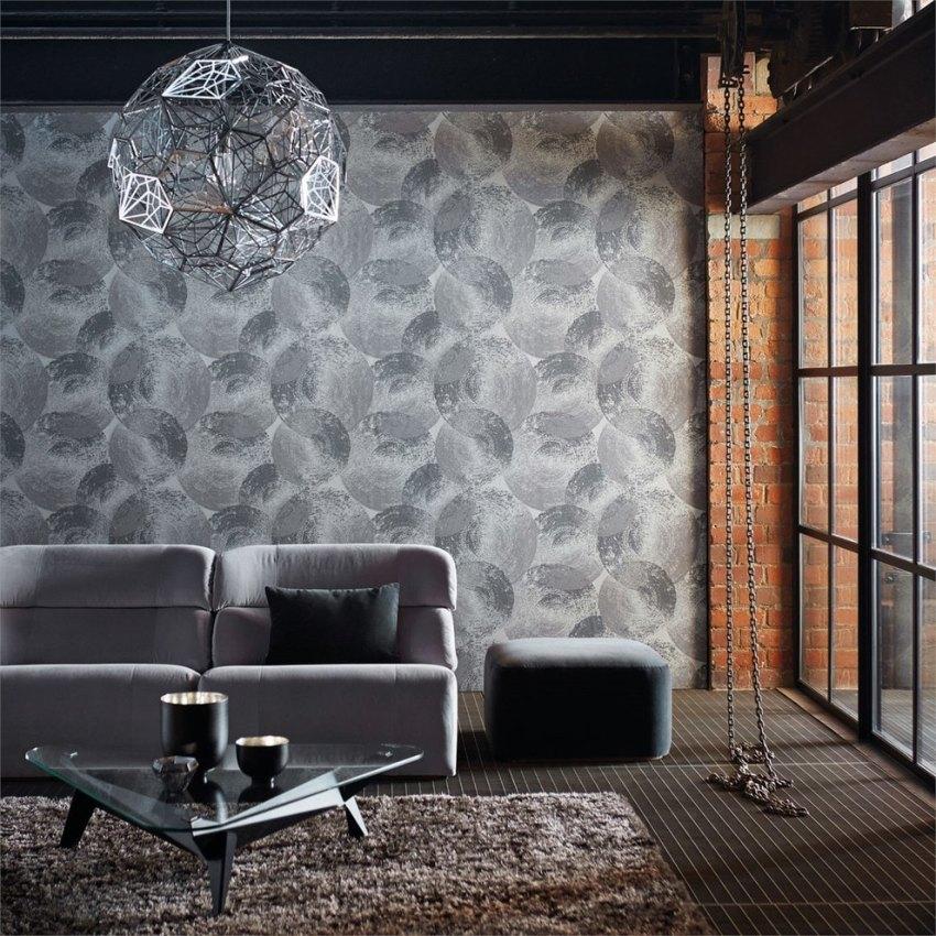 Лофт – это, преимущественно, светлый и приглушенный дизайн, поэтому нужно подбирать обои пастельных и холодных тонов