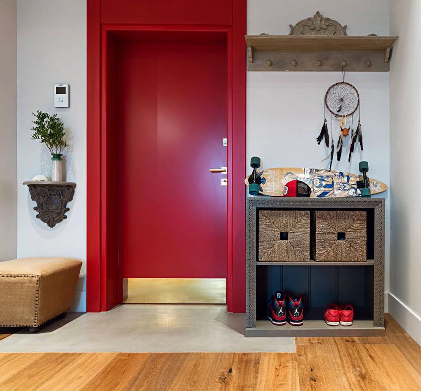 В целях экономии места можно отдать предпочтение многофункциональной мебели