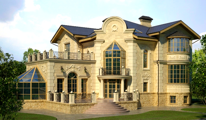 Строительство дома из газоблоков с двумя этажами требует тщательной проработки проекта, в частности планировки помещений
