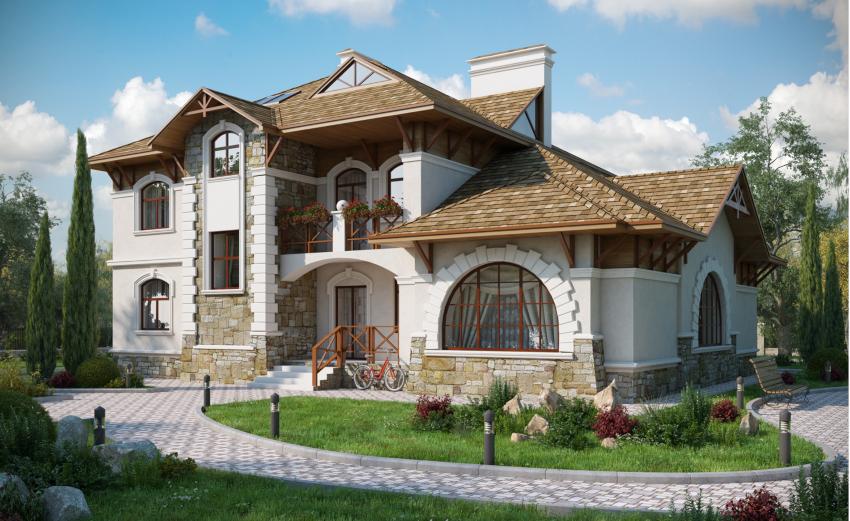 Мансарда позволяет получить не только дополнительное жилое пространство, но сэкономить денежные средства