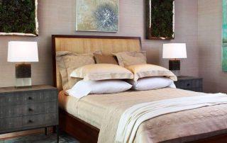 Размеры прикроватных тумбочек для спальни: выбор подходящей модели