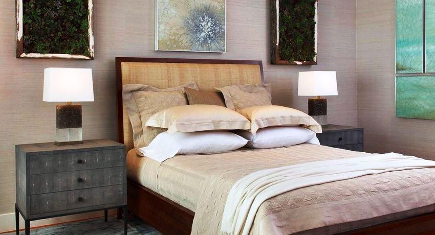 Размеры прикроватных тумбочек для спальни: особенности выбора конструкции
