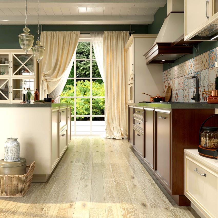 Нельзя уменьшать высоту расположения кухонной столешницы в угоду интерьера