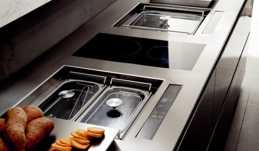 Наиболее стандартизованной остается только ширина кухонных столешниц
