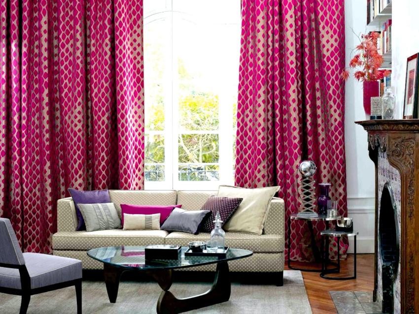 При покупке ткани для штор необходимо прибавить к размеру припуски на швы – по 5-6 см с каждой стороны