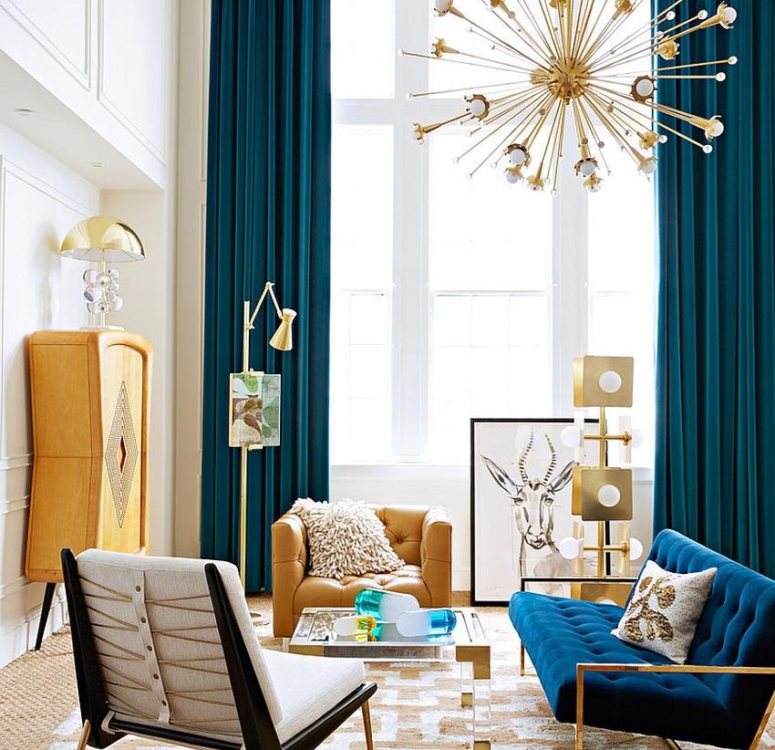 Если длина полотна на 4-5 сантиметров короче необходимого размера, шторы будут выглядеть куцыми и непривлекательными