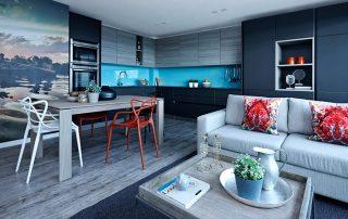 Сочетание цветов в интерьере кухни: создаем стильное и гармоничное пространство