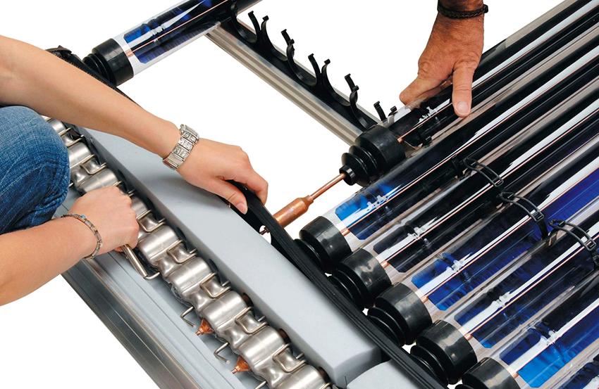 Чтобы коллектор качественно работал необходимо правильно произвести сборку и монтаж конструкции