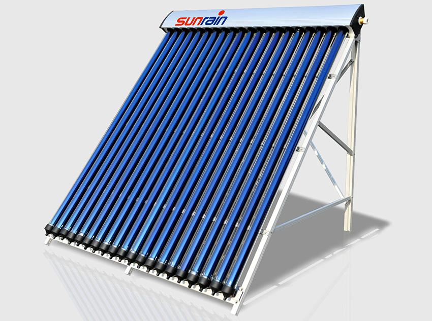 По типу конструкции солнечные коллекторы бывают вакуумными и плоскими