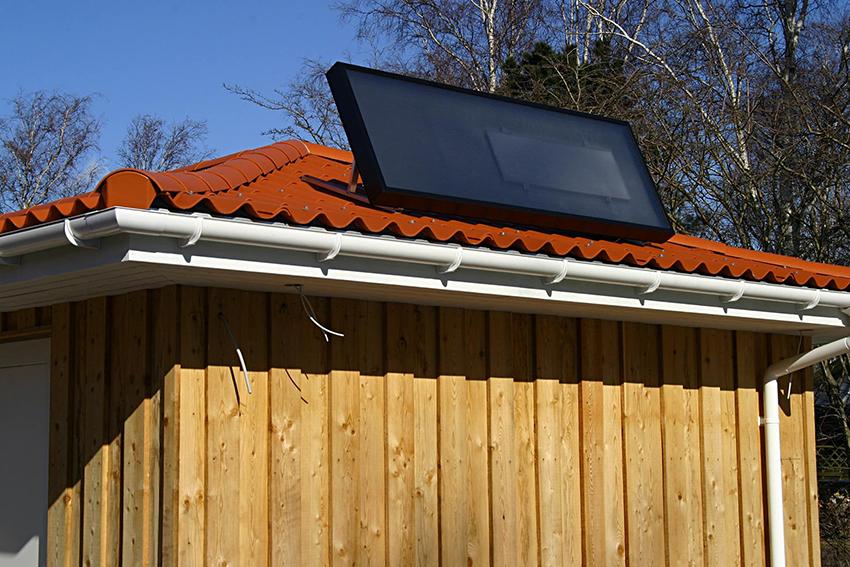 Плоский солнечный коллектор Сокол-Эффект А может поглощать до 95% солнечной энергии