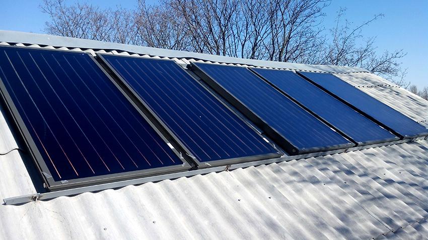 Плоские солнечные коллекторы являются самыми востребованными