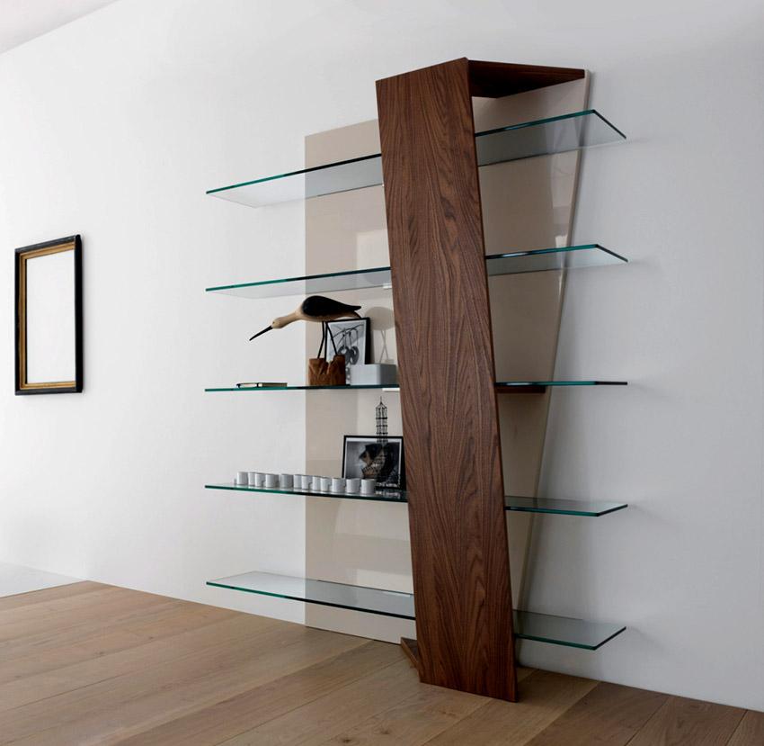 Для изготовления полок используют триплекс, закаленное, армированное и обычное стекло