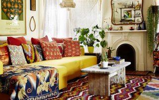 Стиль бохо в интерьере: гармоничное сочетание разнообразных стилей