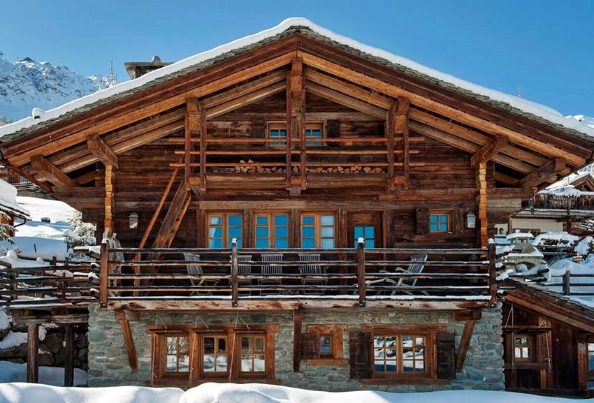 Дома в стиле шале отличаются экологичностью и долговечностью