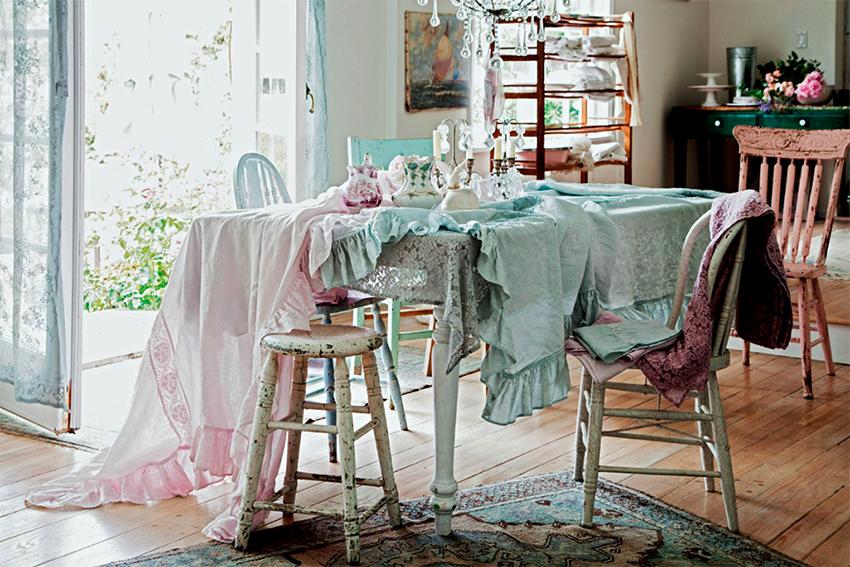 Придать мебели правильный состаренный вид можно собственноручно