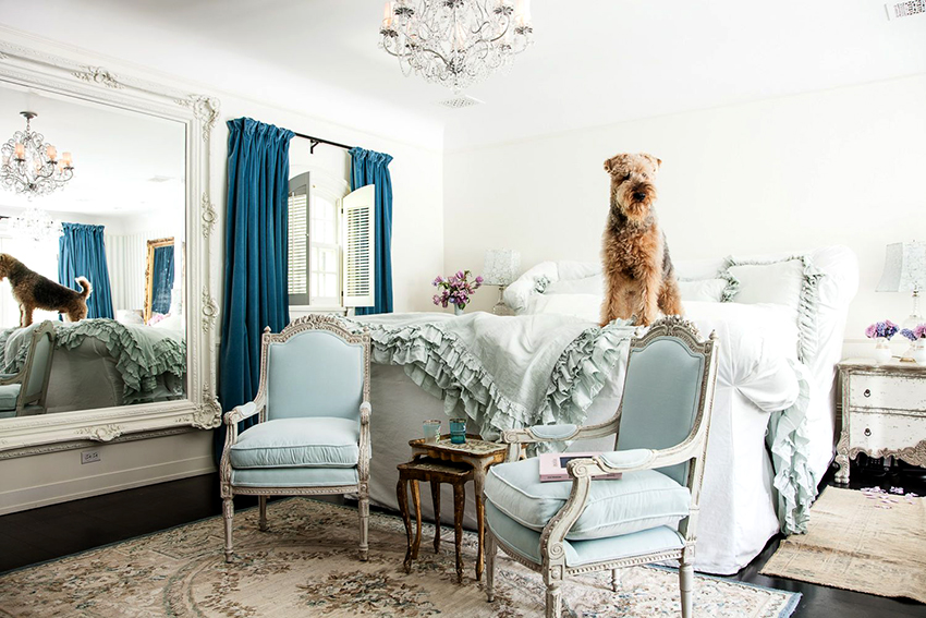 Мебель для интерьера в стиле шебби шик должна иметь состаренный вид