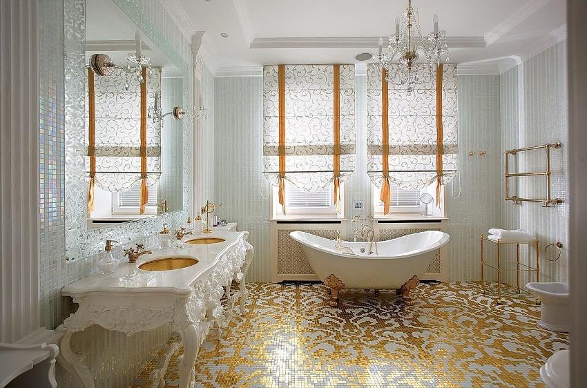 Основной задачей стиля рококо является раскрытие всей изысканности и богатства помещения с помощью позолоты на мебели, дорогого текстиля и пород дерева