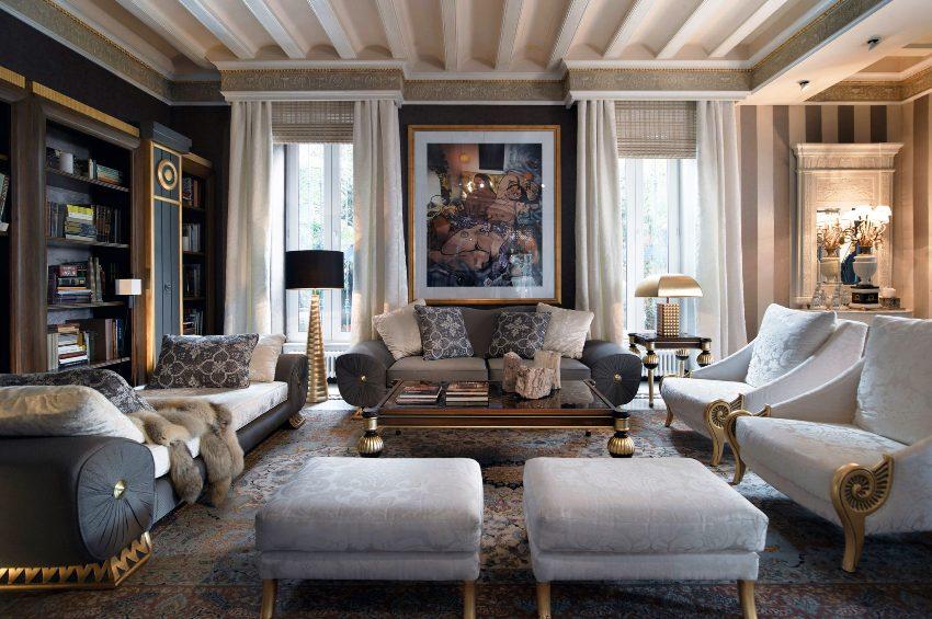 Классический стиль в интерьере - это аристократичный стиль, поставивший во главу сдержанную элегантность