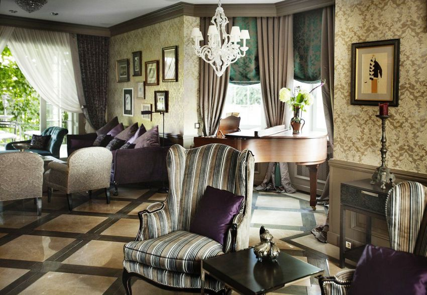 Современный французский стиль в интерьере выглядит весьма сдержанно, с налётом винтажной роскоши