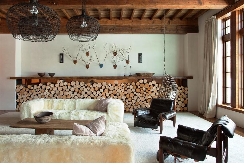 В кантри стиле хороший вкус сочетается с уютом и естественностью