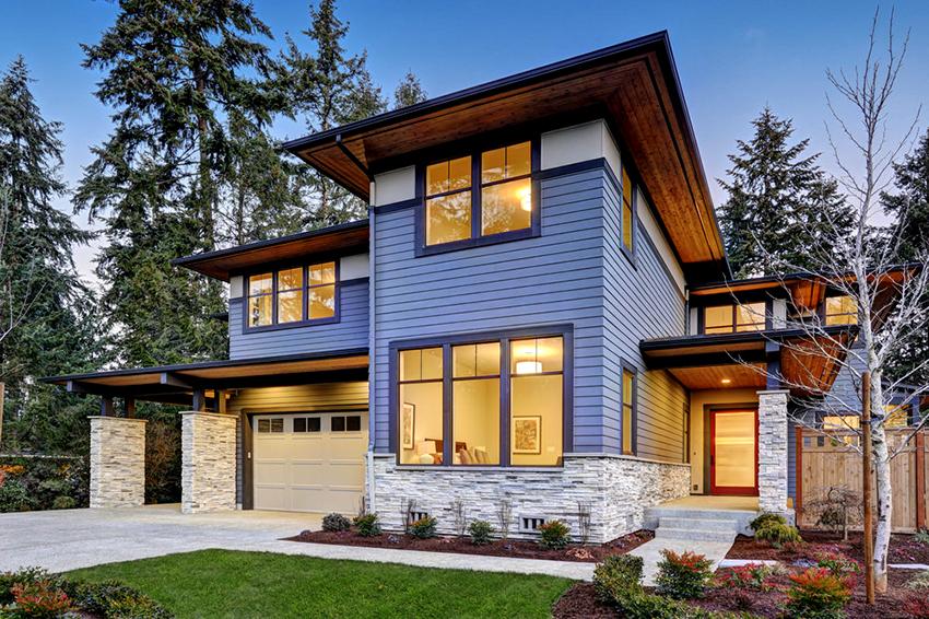 Дом из пеноблоков легко и быстро можно построить своими руками
