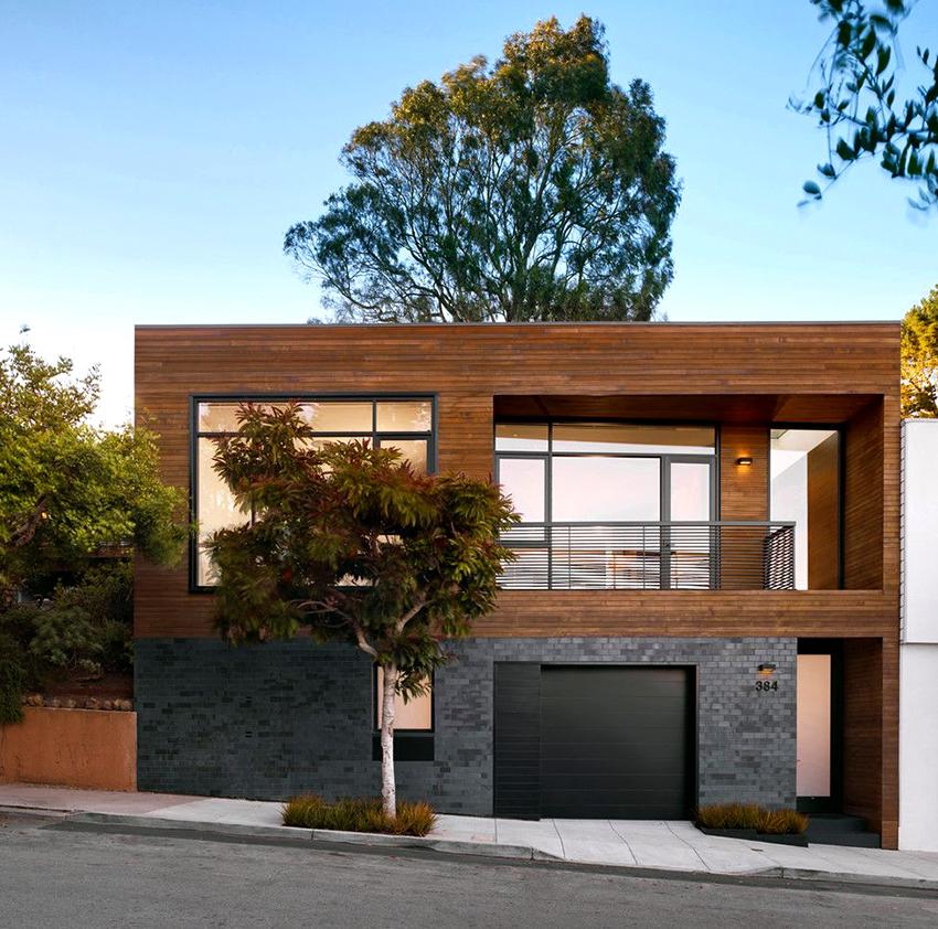 Если в проекте небольшой дом из пеноблоков, то можно использовать обычный ленточный фундамент