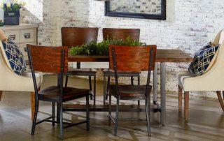 Стулья на кухню: классические и необычные конструкции в составе обеденных групп