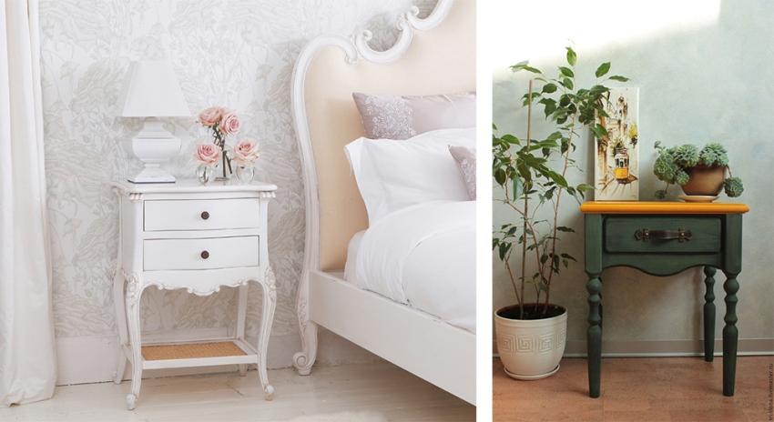 Прикроватные столики для спальни – это очень удобная и функциональная мебель, которая к тому же может прекрасно дополнить интерьер спальни