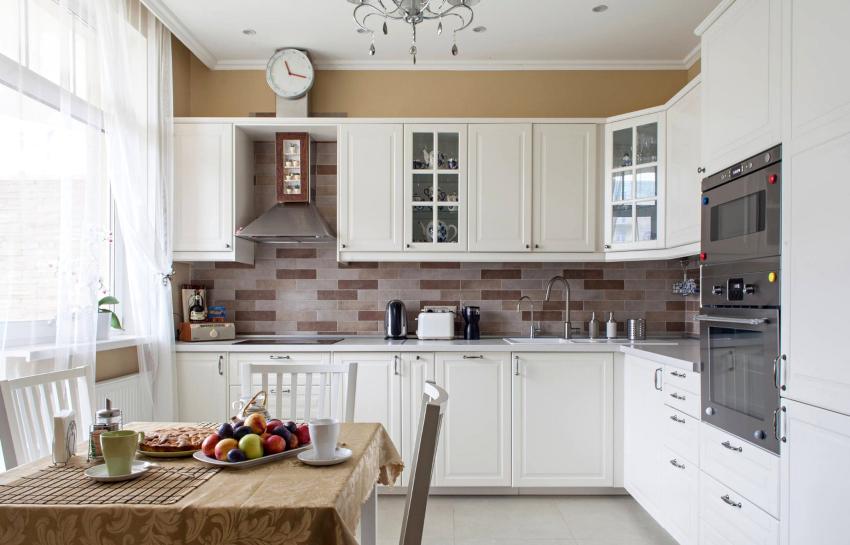 Материалы для ремонта кухни нужно подбирать в зависимости от будущего дизайна помещения