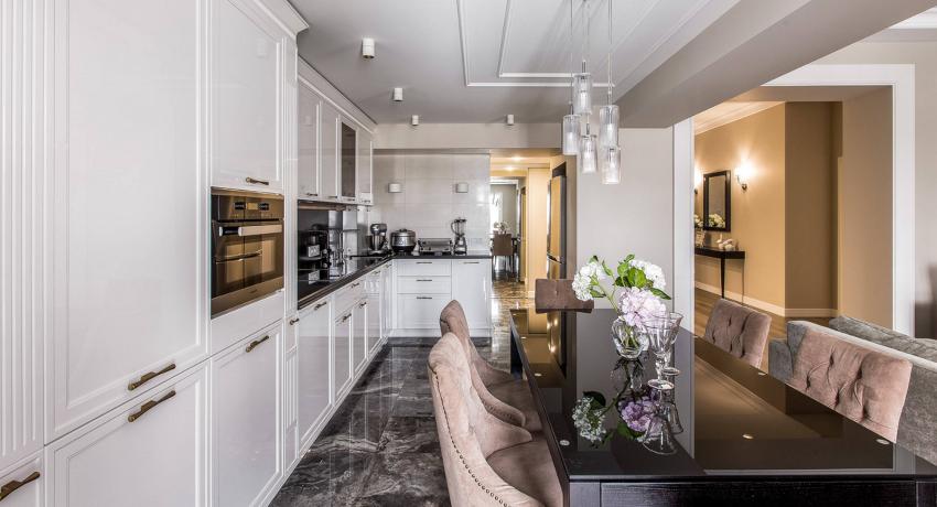 Угловая кухня: идеальный рабочий треугольник для комфортной готовки