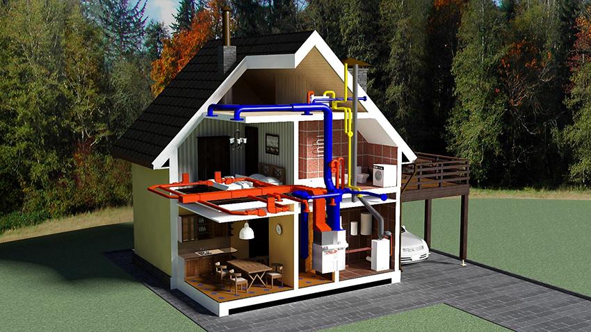 Планируя воздушную систему отопления, все расчеты рекомендуется предоставить специалистам