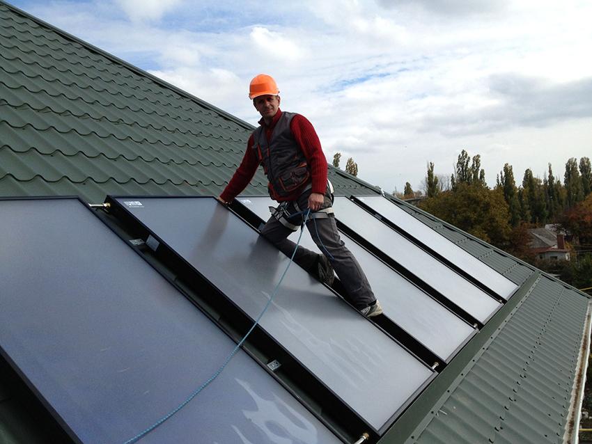 Воздушное солнечное отопление является эффективным и малозатратным