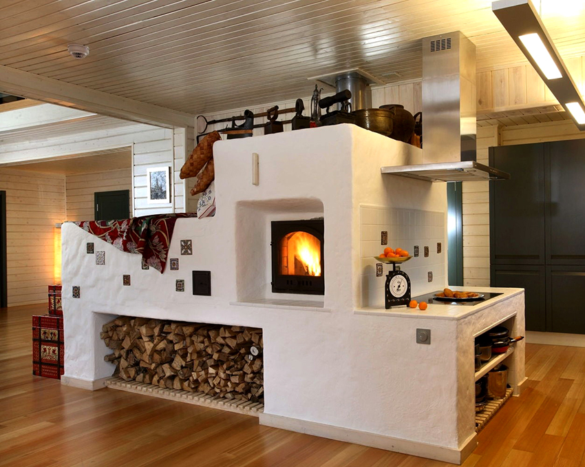 Печь – один из первых способов воздушного отопления помещений