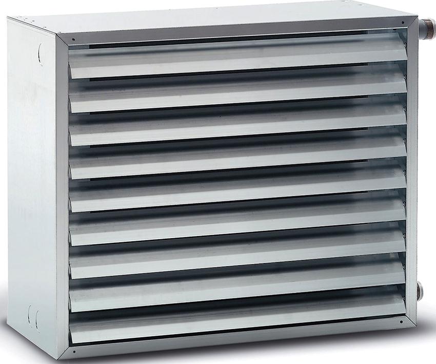 Нагреватели для воздушного отопления делятся на теплогенераторы и калориферы